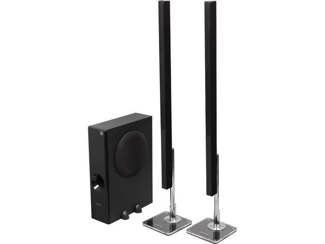 Sharp HTSL75 2.1 CH Slim Sound Bar Home Theater System - System