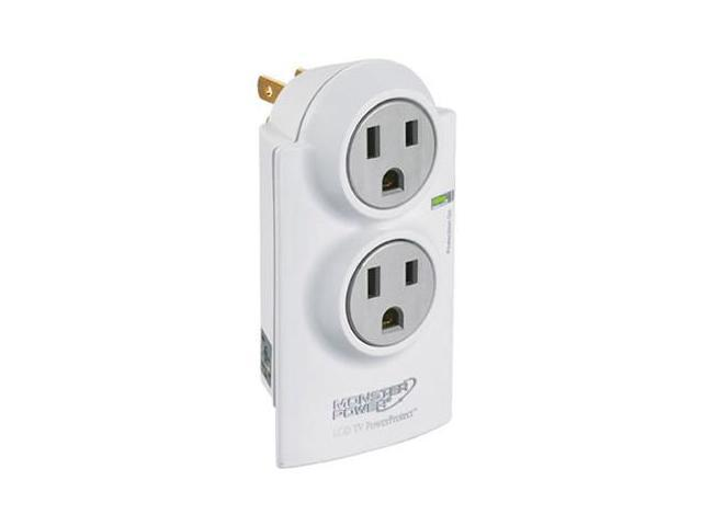 MONSTER MPAVFL200 Power Home Series PowerProtect Dual Outlet Surge Protector