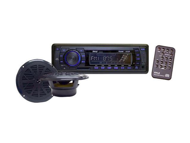 Pyle PLMRKT13BK In-Dash Marine AM/FM PLL Tuning Radio w/6.5