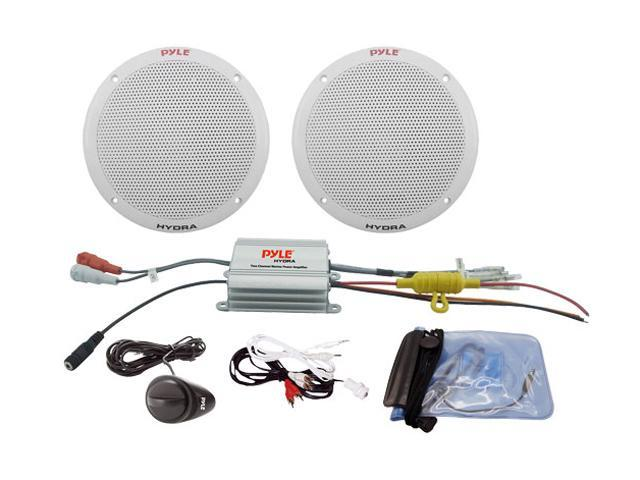 Pyle PLMRKT2A 2 Channel Waterproof MP3/iPod Amplified 6.5