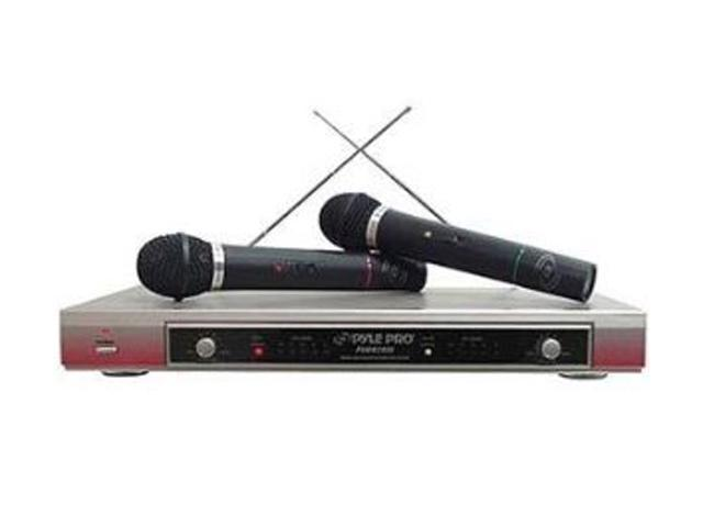 PYLE PDMW-2000 Dual VHF Wireless Microphone System