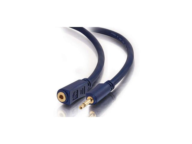 C2G Velocity 3.5mm Mono Audio Extension Cable