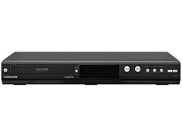 Magnavox Home Theater DVD Recorder With 500GB Hard Drive - MDR535H Record up to 626 hours to HDD