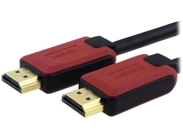 Insten 1044458 3 ft. 2X High Speed HDMI® Cable with Ethernet M-M