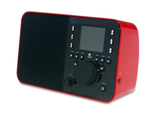 Logitech Squeezebox Radio Network Audio Player - Red 930-000097