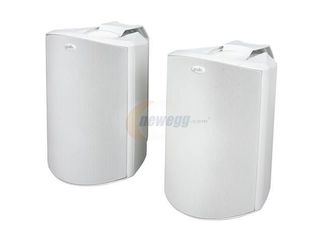 Polk Audio Atrium6 Compact Indoor/Outdoor Speaker White Pair