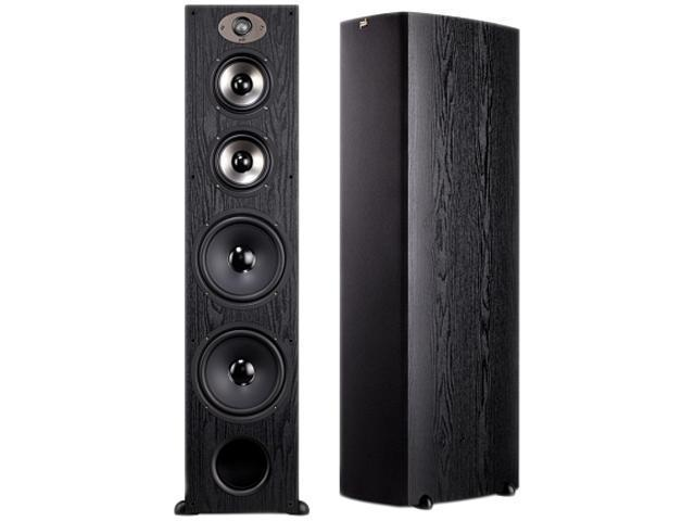 Polk Audio TSX550T BLACK Floorstanding Loudspeaker Single