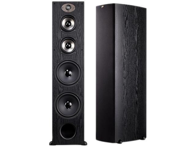 Polk Audio TSX550T BLACK Floorstanding Loudspeaker Single