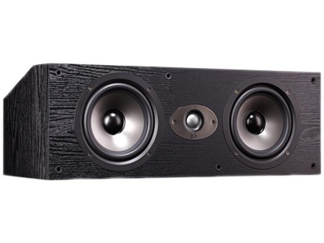 Polk Audio TSX250C BLACK 3-Way High Performance Center Channel Speaker Single