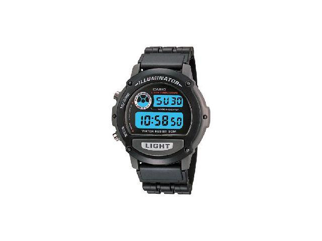 Casio Mens Illuminator Multi-Function Chrono Digital Sports Watch Black