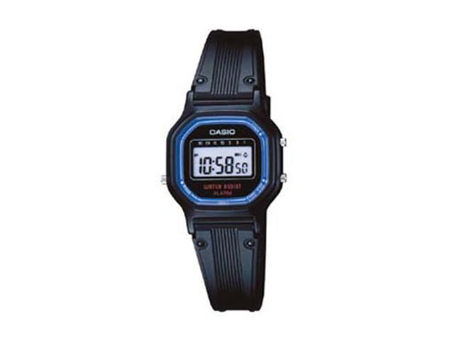 Casio Women's LA-11WB-1 Water Resistant Daily Alarm Stopwatch Digital Watch