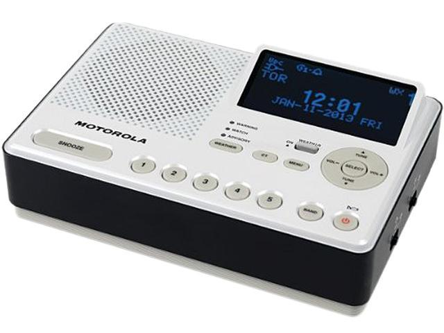 Motorola AM/FM Weather Radio - MWR839