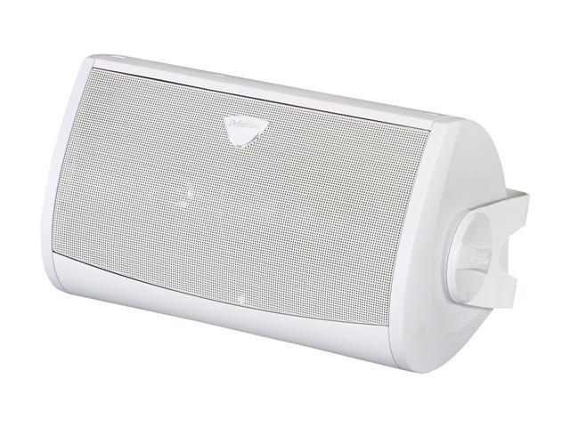 Definitive Technology All-Weather AW5500 Superior Performance All-Weather Loudspeaker with Bracket (White) Single