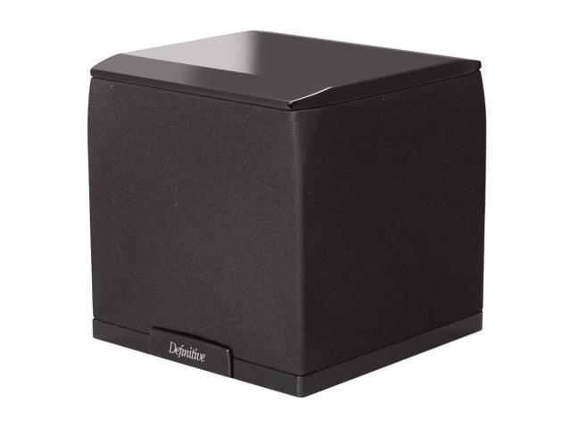 Definitive Technology SuperCube 2000 Ultra Compact High Performance Powered Subwoofer - Each (Black)