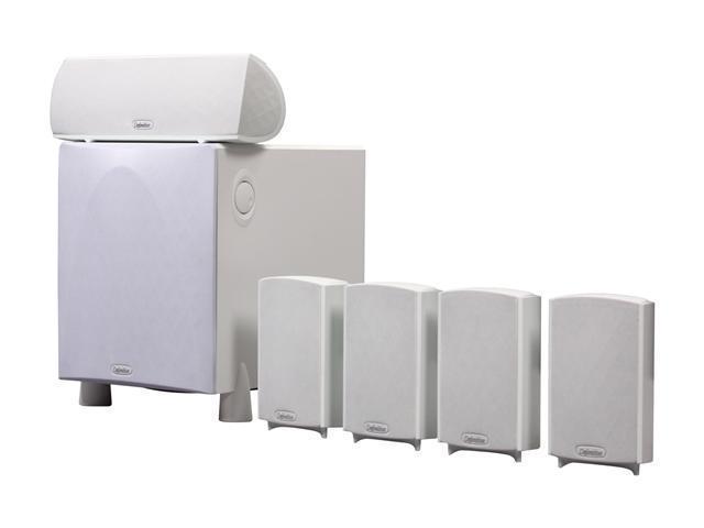 Definitive Technology ProCinema 600 5.1-Channel Home Theater Speaker System (White)