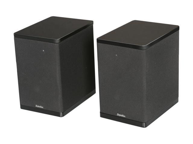 Definitive Technology StudioMonitor 450 Bookshelf Speaker (Black) Pair