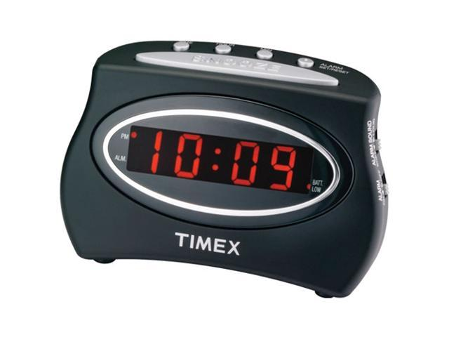 Timex T101B Extra Loud LED Alarm Clock