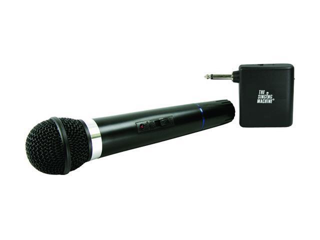 Singing Machine SMM-107 Dynamic VHF Wireless Microphone