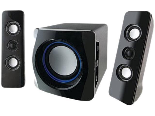 iLive IHB23B 2.1 CH Wireless Bluetooth 2.1 speaker system with subwoofer System