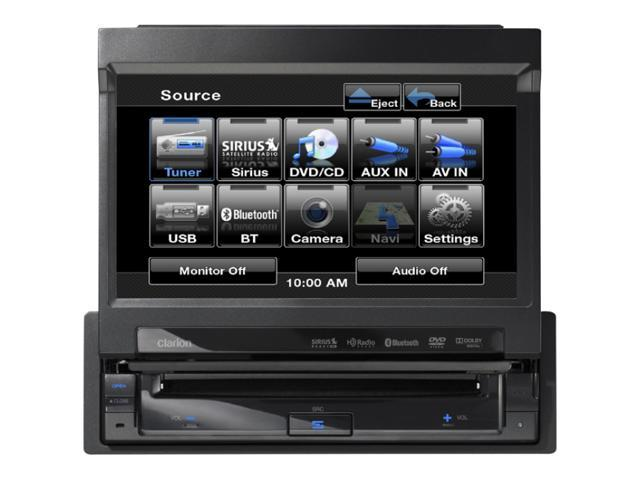 Clarion 1-DIN DVD Receiver with 7