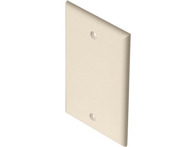 Steren 200-258AL TV-Telephone Wall Plate, Almond
