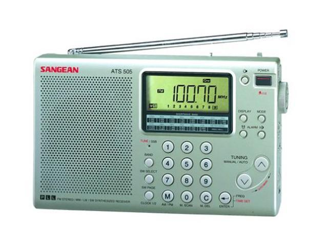 Sangean AM/FM Stereo/LW/SW PLL Synthesized Radio ATS-505P