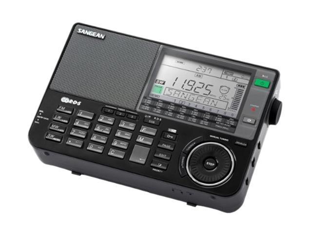 Sangean FM-RDS (RBDS) / MW / LW / SW PLL Synthesized Receiver (Black) ATS-909X BK