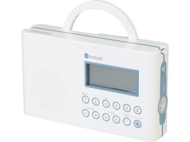 Sangean AM/FM Bluetooth Shower Radio H-202