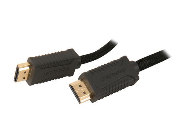 IOGEAR GHDC1403P 9.8 ft. (3 m) Black/Grey High Speed HDMI® Cable with Ethernet M-M