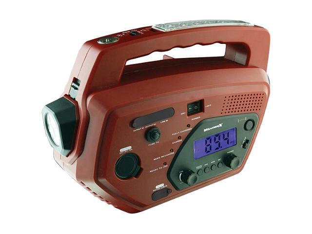 WEATHER-X Weatherband and AM/FM Radio System with Mobile Phone Charger WR882R