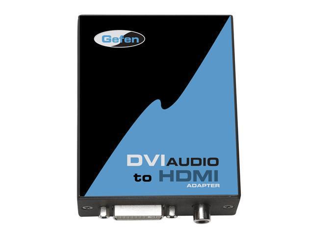 Gefen EXT-DVIAUD-2-HDMI DVI With SPDIF Audio to HDMI Adapter