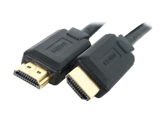 Kaybles 6ft HDMI-S-6 6 ft. High Speed HDMI Cable with Ethernet and Gold Plated Connector in OEM Package M-M 6 feet