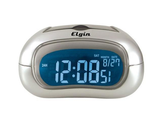 Elgin 3455E Electric Alarm Clock With Selectable Display Color
