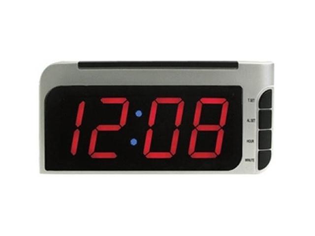 Elgin 4537E Bedside Alarm Clock with Auto-Set