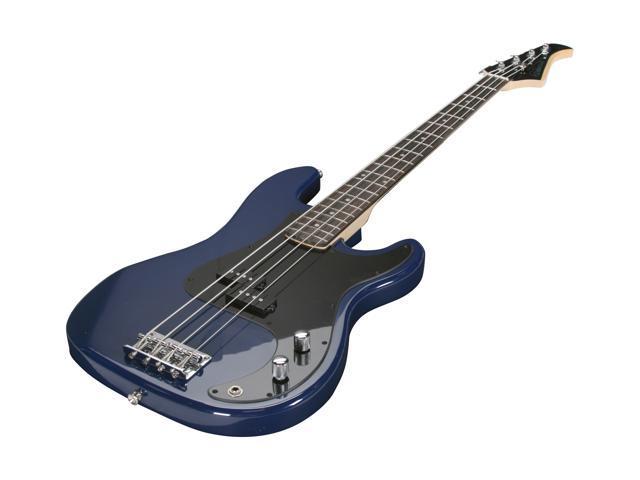 samick silvertone sslb11 ele bass guitar colbalt blue ebay. Black Bedroom Furniture Sets. Home Design Ideas
