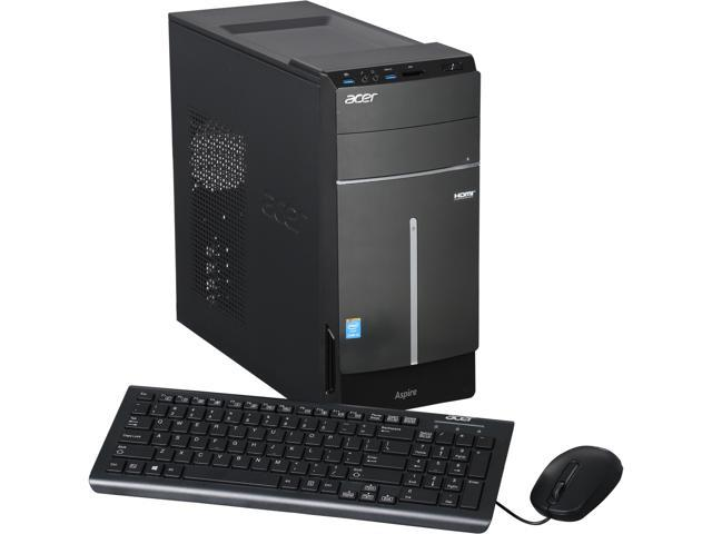 Acer Aspire ATC-605-UR19 Desktop PC with Intel Core i5-4440 (3.1GHz), 8GB DDR3, 1TB HDD, DVDRW, Windows 8 – 64 Bit, DT.SRQAA.030
