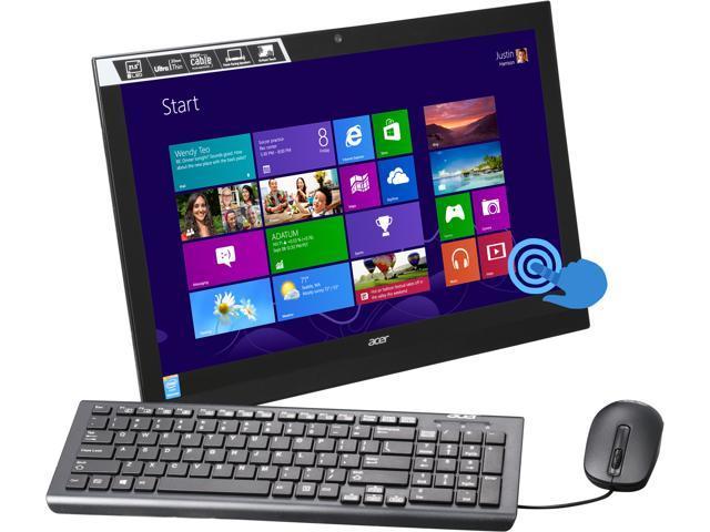 Acer All-in-One PC Aspire AZ1-621-UR18 Pentium N3540 (2.16GHz) 4GB DDR3 1TB HDD 21.5