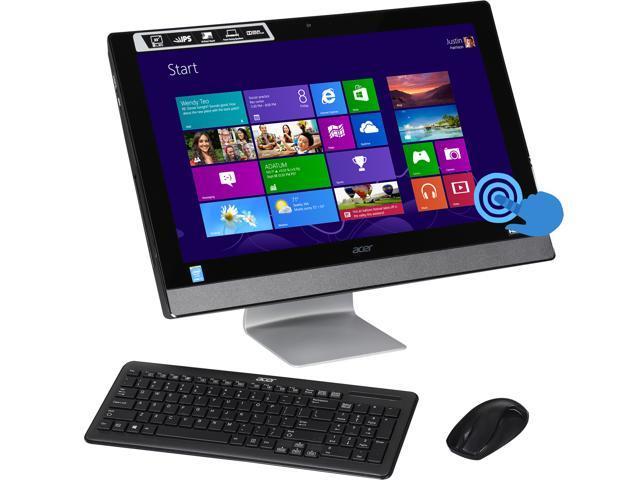 Acer All-in-One PC Aspire AZ3-615-UR1C Intel Core i3 4160T (3.10GHz) 6GB DDR3 1TB HDD 23