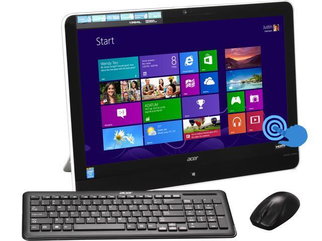 Acer Aspire Pentium J2900 (2.41GHz) 8GB DDR3 1TB HDD 21.5