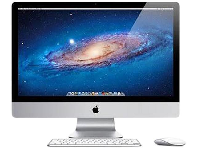 Apple Desktop PC iMac MD063LL/A-R7 Intel Core i7 2600 (3.40GHz) 8GB 1TB HDD 250GB SSD Mac OS X v10.6 Snow Leopard