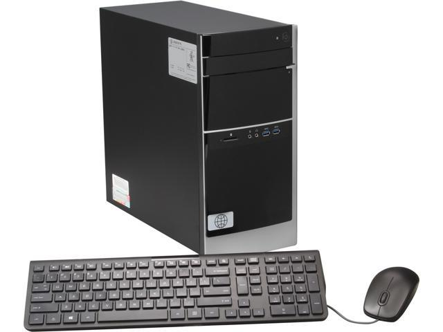 HP Debranded Pavilion Mid Tower Desktop PC with Quad Core Intel Core i5 4430 3.0Ghz (3.2Ghz), 4GB DDR3 RAM, 1TB HDD, DVDRW with LightScribe, ...