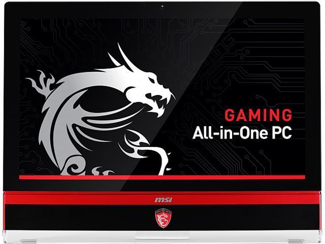 MSI All-in-One PC AG270 2QE-037US Intel Core i7 4870HQ (2.50GHz) 16GB DDR3 2TB HDD 256GB SSD 27