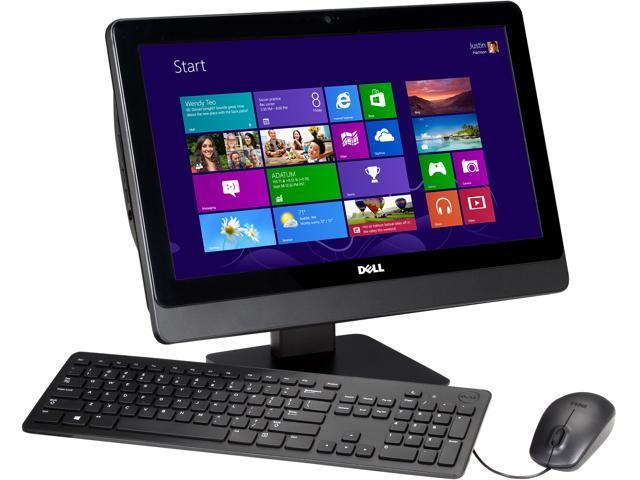 DELL All-in-One PC Inspiron One io3045-555BLK AMD Dual-Core Processor E1-2500 (1.40GHz) 4GB DDR3 500GB HDD 20