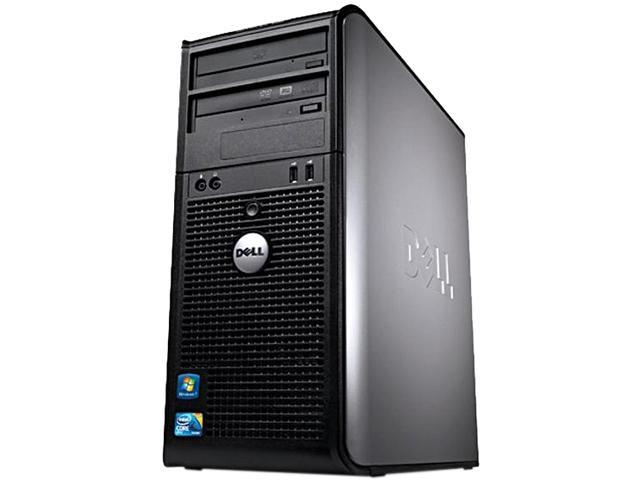 DELL Optiplex 760 [Microsoft Authorized Recertified] Desktop PC with Intel Core 2 Duo 2.66Ghz, 4GB RAM, 250GB HDD, DVDRW, Windows 7 Professional ...