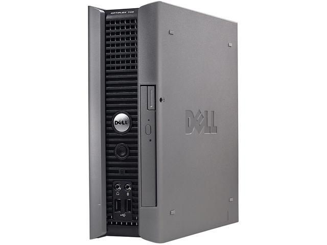 Dell OptiPlex 755 uSFF [Microsoft Authorized Recertified] PC with Intel Core 2 Duo 2.1GHz, 4GB RAM, 320GB HDD, DVD-ROM, Windows 7 Professional ...