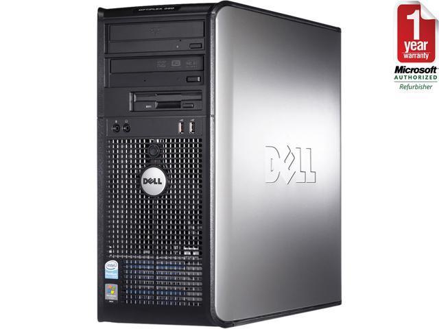 DELL OptiPlex 755 Mid Tower Desktop PC with Intel Core 2 Duo 2.93GHz 4GB RAM 750GB HDD DVDRW Windows 7 Professional 64-Bit