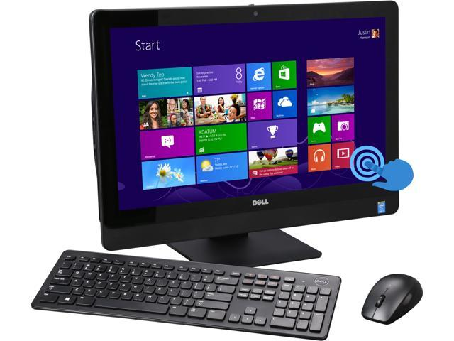 DELL All-in-One PC Inspiron 5348 (i5348-4446BLK) Intel Core i3 4150 (3.50GHz) 8GB DDR3 1TB HDD 23