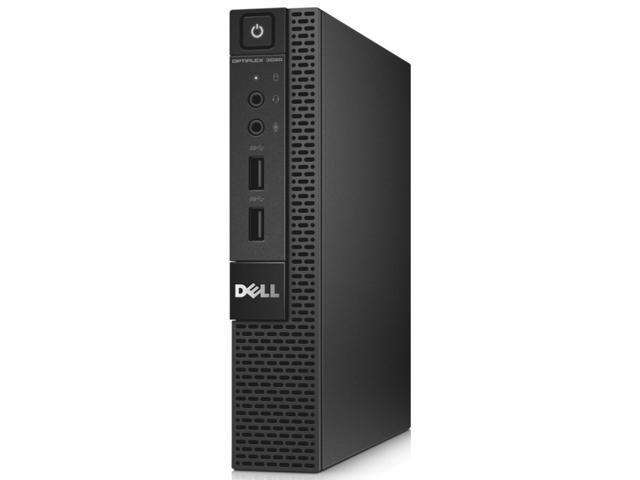 Dell OptiPlex 3020 Desktop Computer - Intel Pentium G3240T 2.70 GHz - Micro PC