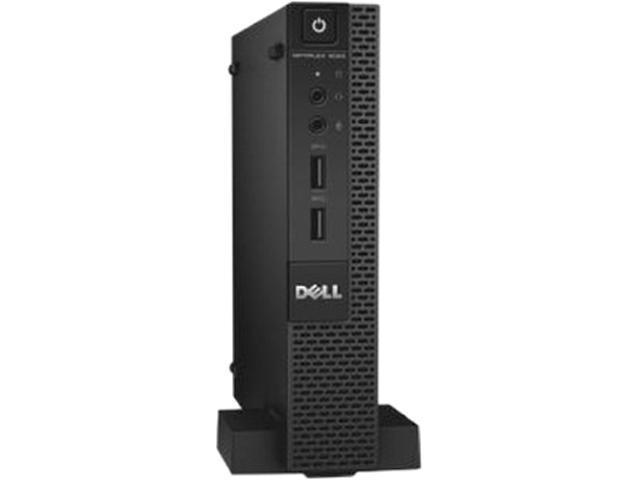 Dell OptiPlex 9020 Desktop Computer - Intel Core i7 i7-4785T 2.20 GHz 8GB DDR3 128GB SSD - Micro PC - Black