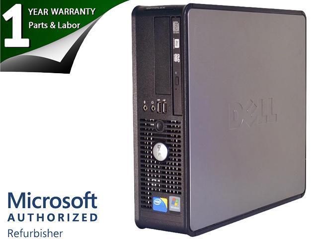Dell OptiPlex 780 Small Form Factor Desktop PC Intel Core 2 Duo ...